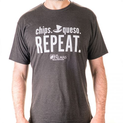 chips and queso t-shirt
